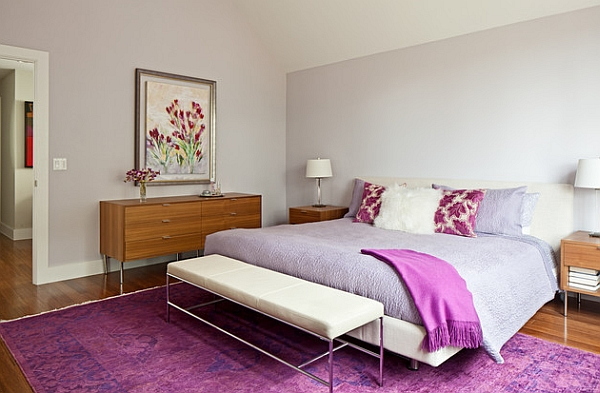 Invite home the hottest new colors with accent fabrics and rugs Hot Color Trends For 2014