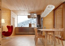 Vacation Homes In The Swiss Alps Showcase The Beauty Of Solid Timber