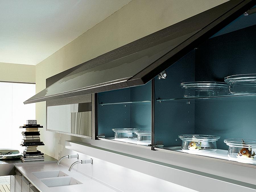Kitchen shelves storage idea