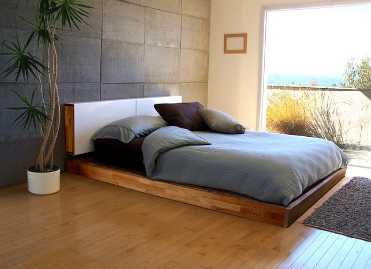 LAX Series Platform bed from MASH
