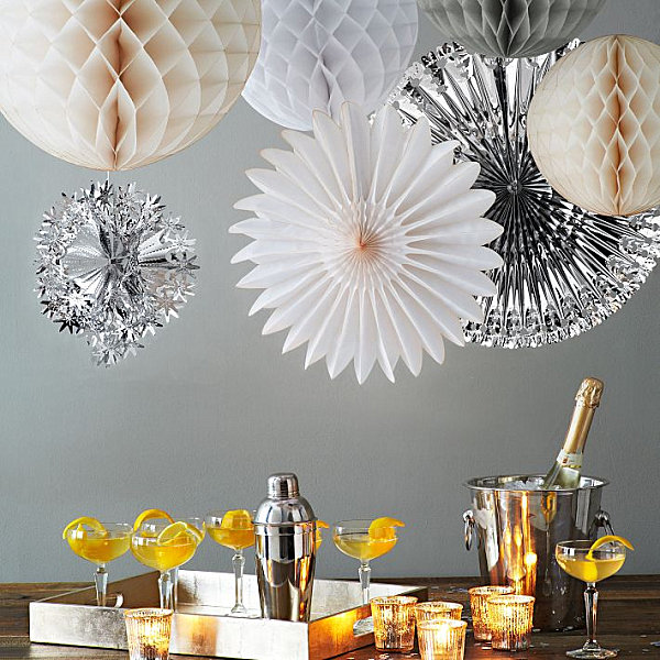 Holiday Decoration Ideas Part - 32: View In Gallery Metallic Holiday Decorations