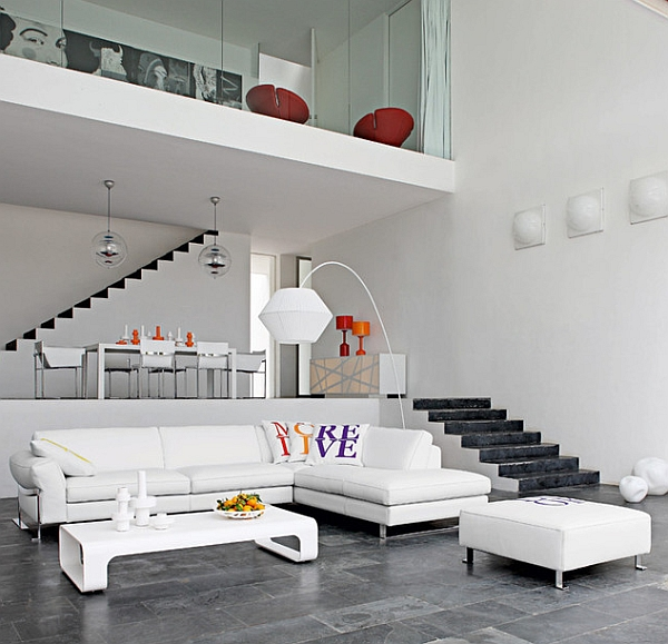 Mezzanines are ideal for homes with a high ceiling