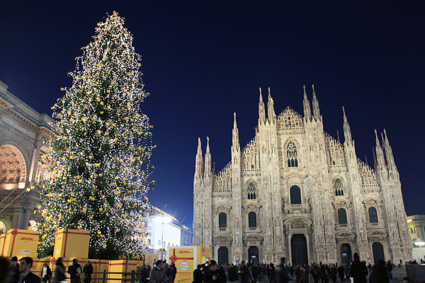 Milan Christmas tree