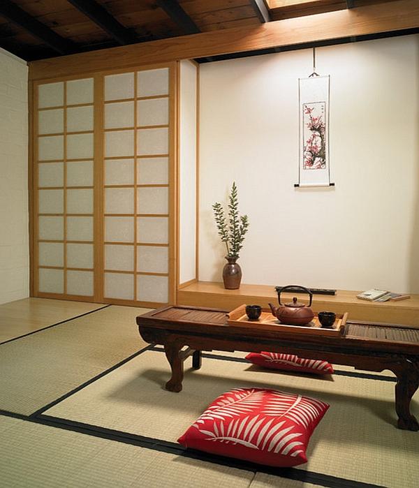 Minimal Japanese style interior
