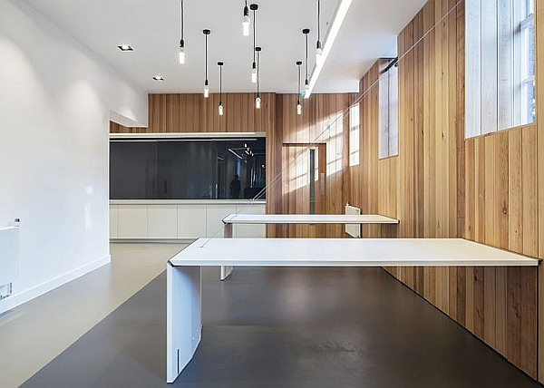 Minimalist Hinged Tables by Moxon Architects for Arts Council England