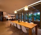 Modern Israeli Home Brilliant Dining Room