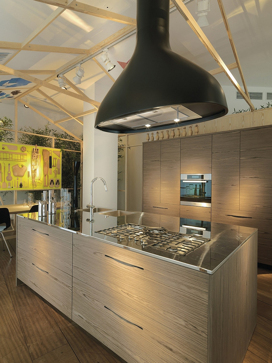 Modern Pampa Kitchen by Schiffini