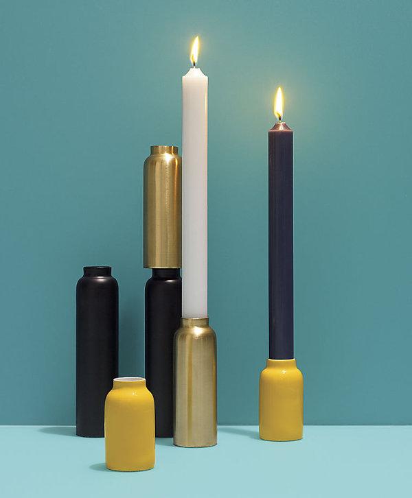 Modern candleholders