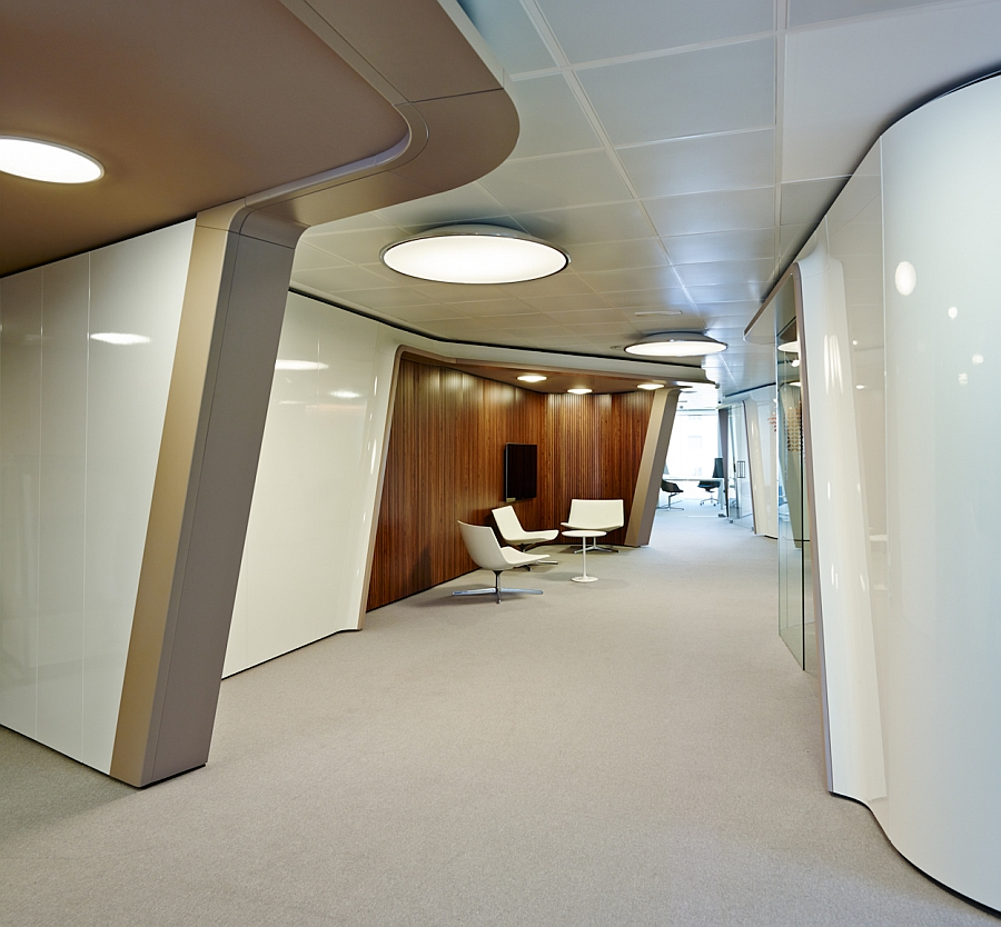 Modern interior of Inaugure Hospitality Group Headquarters in Barcelona