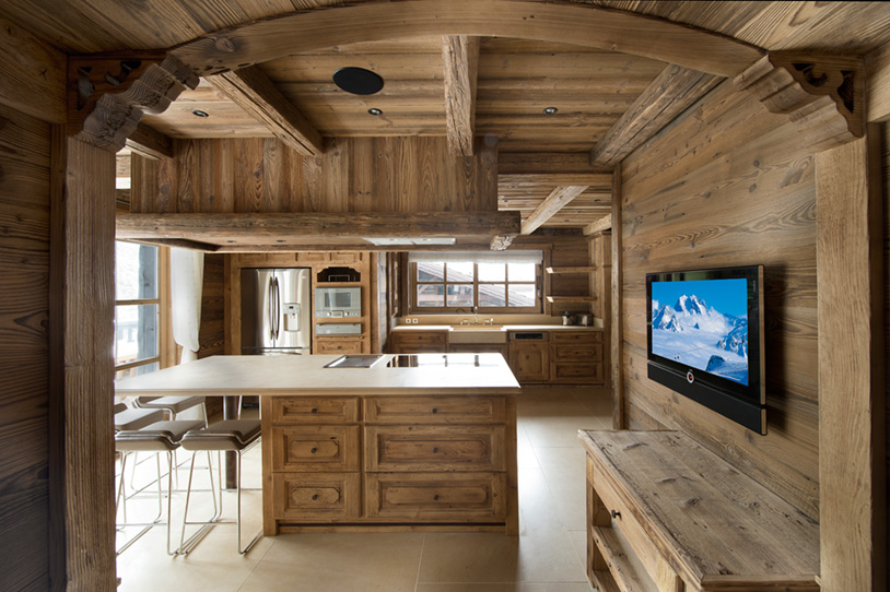 Chalet Kitchen Design