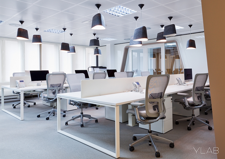 Modern workspace inside Inaugure Hospitality Group Headquarters