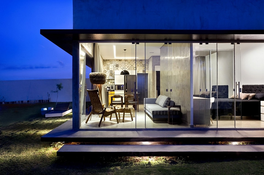 Modren Box House offers small housing solution