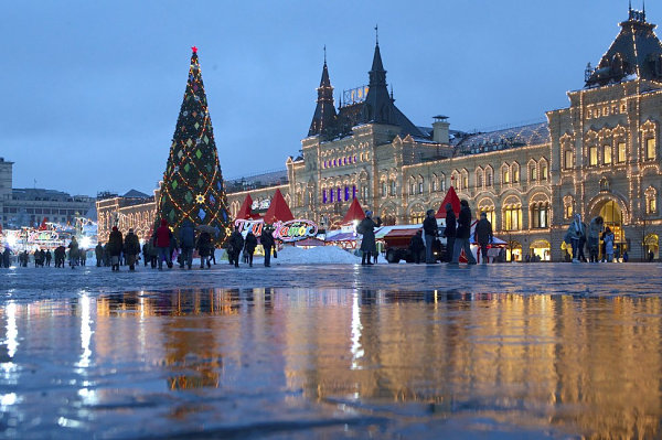 Moscow Christmas tree