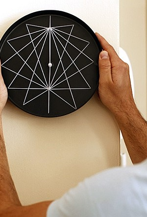 Perspective series wall clocks from Studio Ve