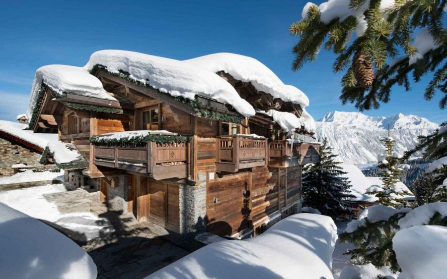 Picture perfect image of Chalet Pearl in in Courchevel Chalet Pearl Ski Lodge Promises A Breathtaking Holiday In The French Alps