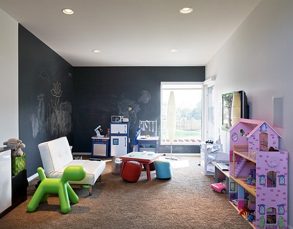 Puppy by Eero Aarnio for Magis in the kids' playroom