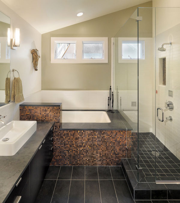 Bath And Shower Designs Stunning Tile Shower Designs