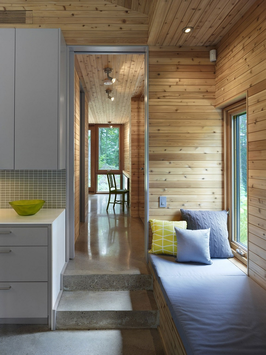 Ultra modern cabin blends rustic warmth with modern minimalism for Minimalist cottage style