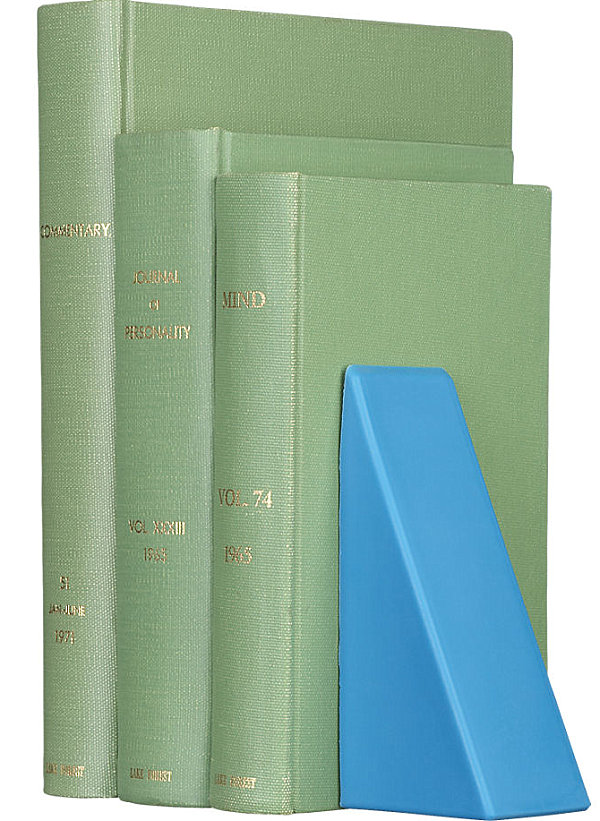 Silicone bookend