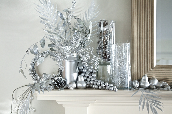 Silver is another great choice for those looking beyond red and green