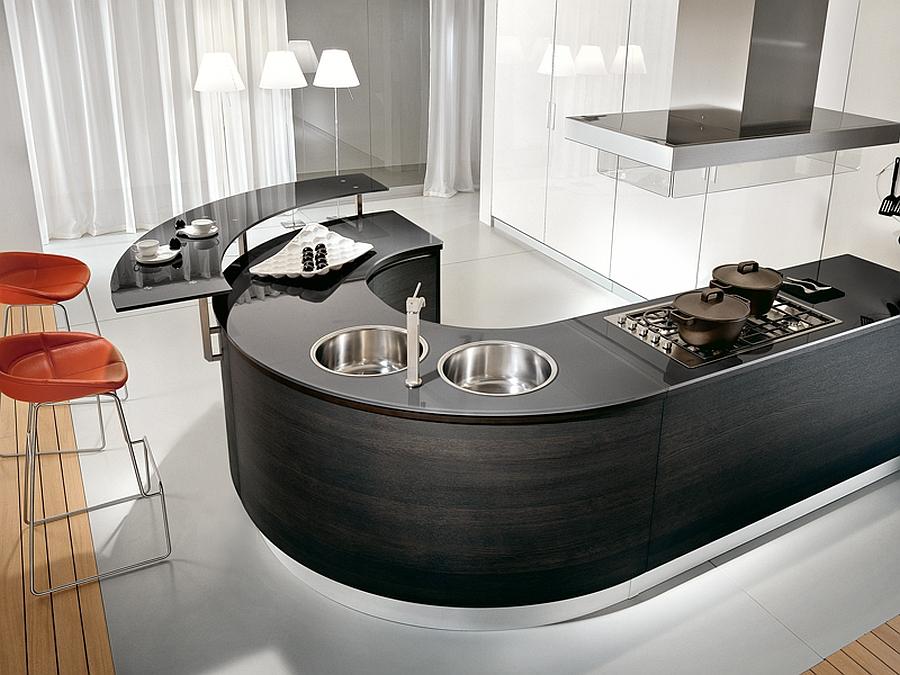 Sizzling modern kitchen design