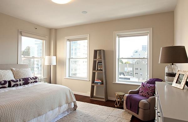 Slim ladder display unit for the bedroom