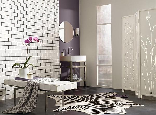 Smart use of the smoky purple-grey