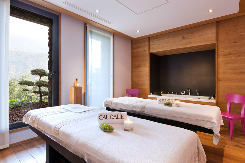 Spa treatment at the French Chalet