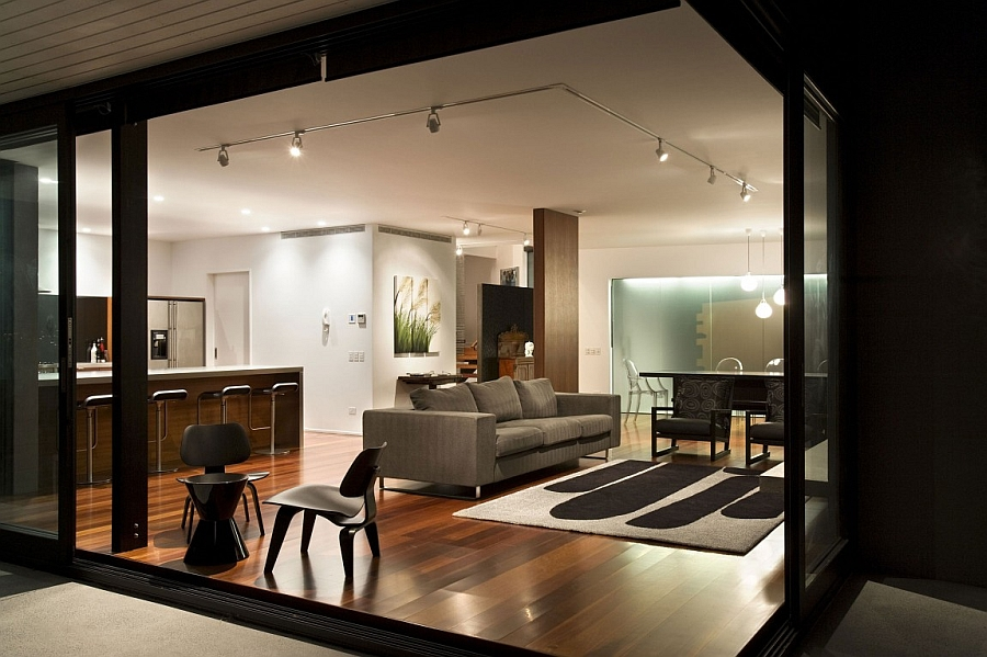 Exclusive facade and expansive bay views shape exquisite for Room design nz