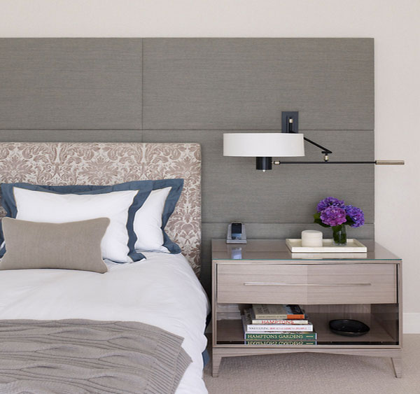 Peach Accent Wall Bedroom Bedroom Chandeliers Ikea Twin Bed Bedroom Ideas Bedroom Sets Colors: Space-Saving Strategy: Where To Put The Lamps?