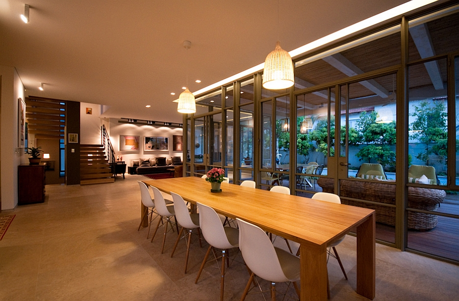 View In Gallery Stunning Dining Room Idea