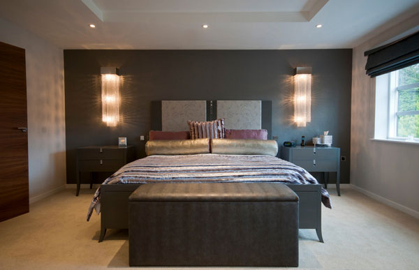 lights in the bedroom space saving strategy where to put the lamps 15901