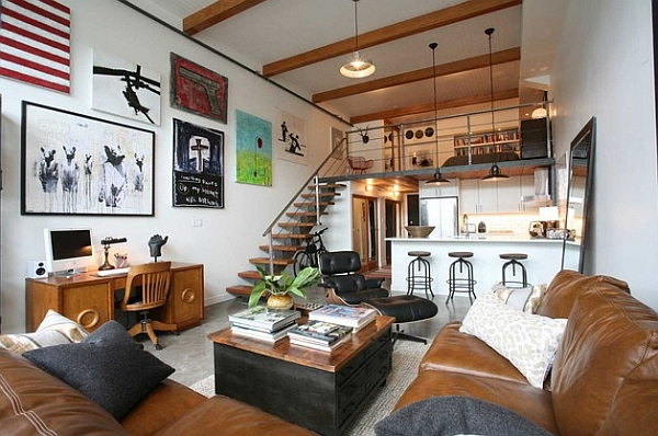 Inspirational mezzanine floor designs to elevate your for Decoration loft