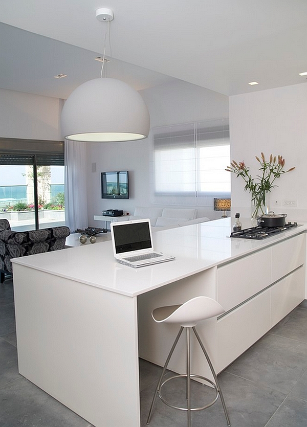 Turn the kitchen into an smart workspace