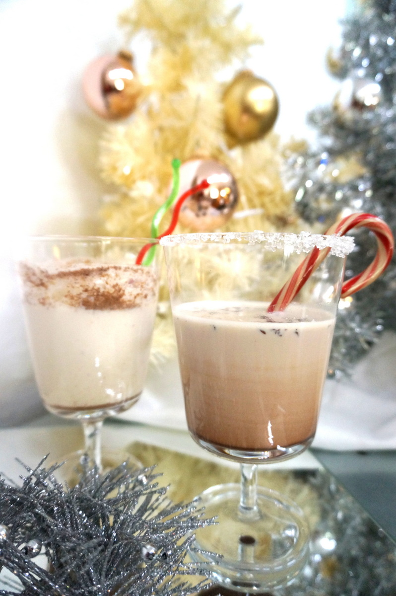 Two yummy holiday drinks