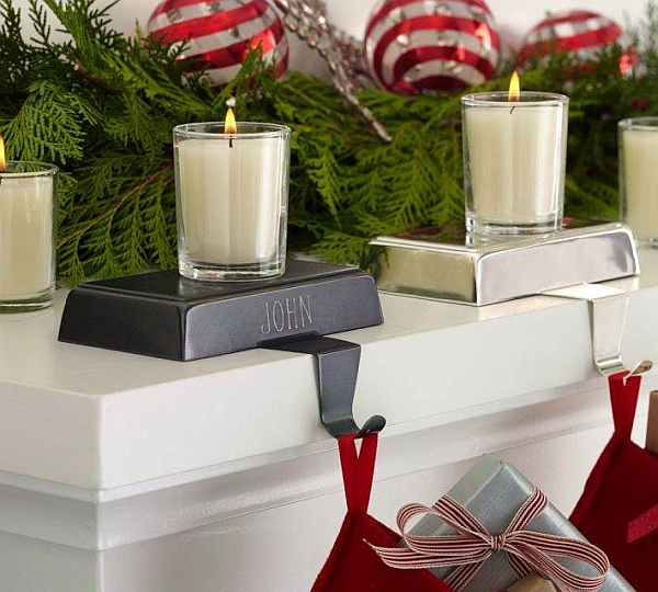 Use candles to usher in the festive charm this Christmas
