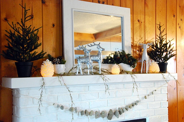 Using natural stones to create a semi-minimalist look in white