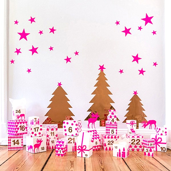 Vibrant advent calendar More DIY Advent Calendars To Make With The Kids