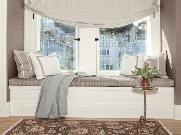 Windowseat window seat ideas for a comfy interior