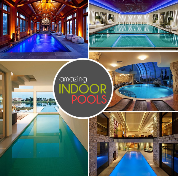 Home Plans With Indoor Pools: 50+ Indoor Swimming Pool Ideas: Taking A Dip In Style