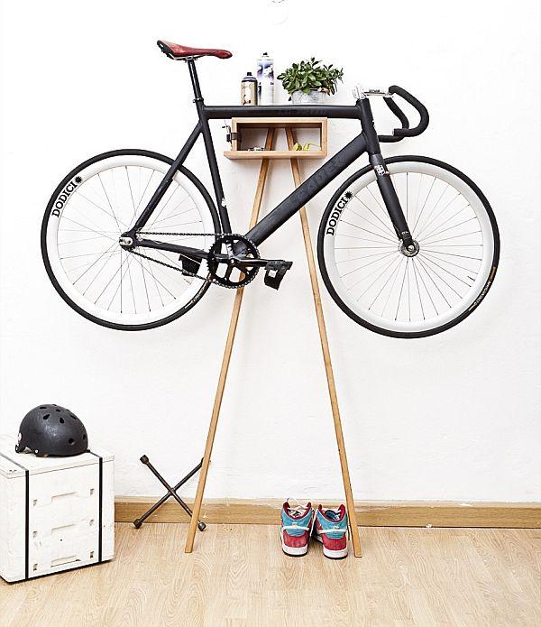bike rack art - jungdynamisch sylt