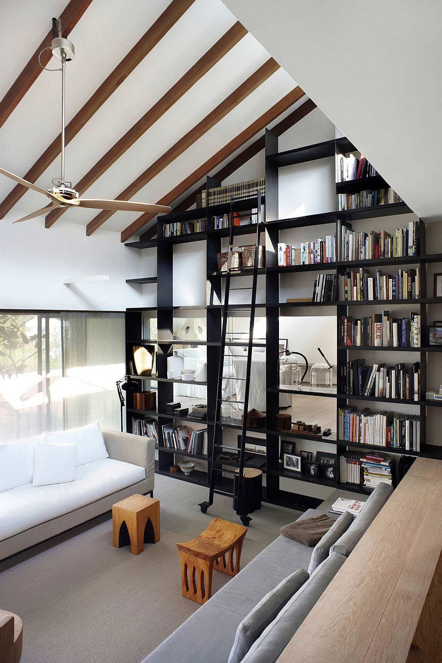 Cozy Library Rooms: Space Saving Book Shelves And Reading Rooms
