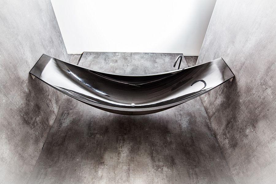 carbon fiber artistic bathtub