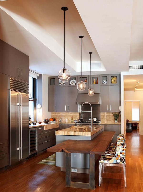 his and hers kitchen island