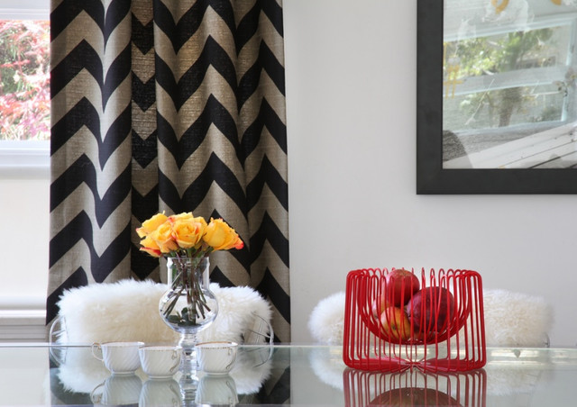 Make And Take Room In A Box Elizabeth Farm: Chevron Pattern Craze: How To Pull It Off At Home
