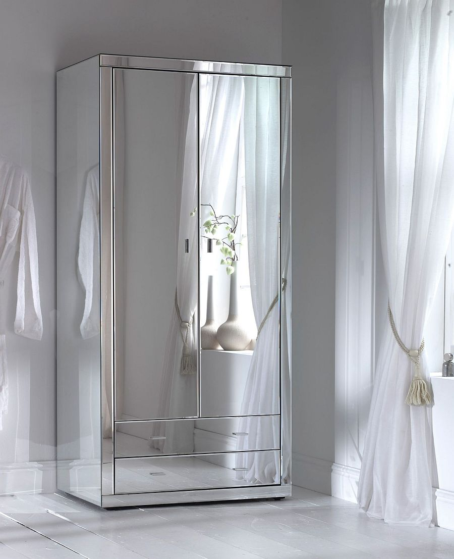 Decorate with mirrors beautiful ideas for home for Bedroom wall cabinet with mirror