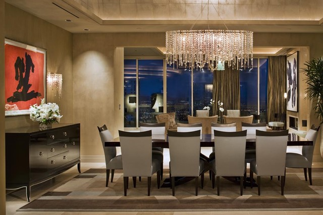 modern dining room chandelier