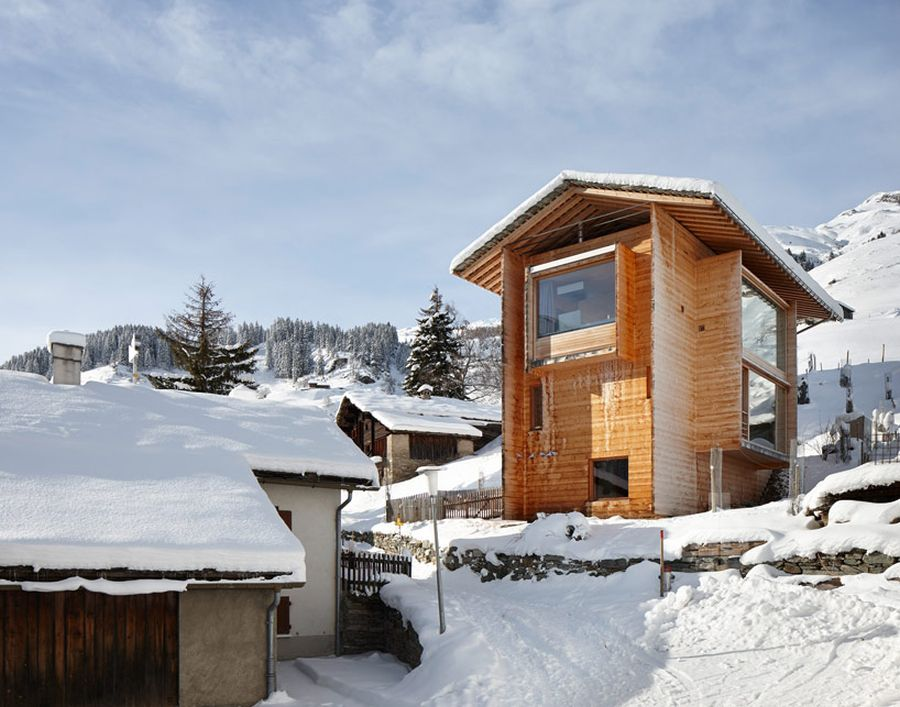 peter zumthor's vacation home in leis