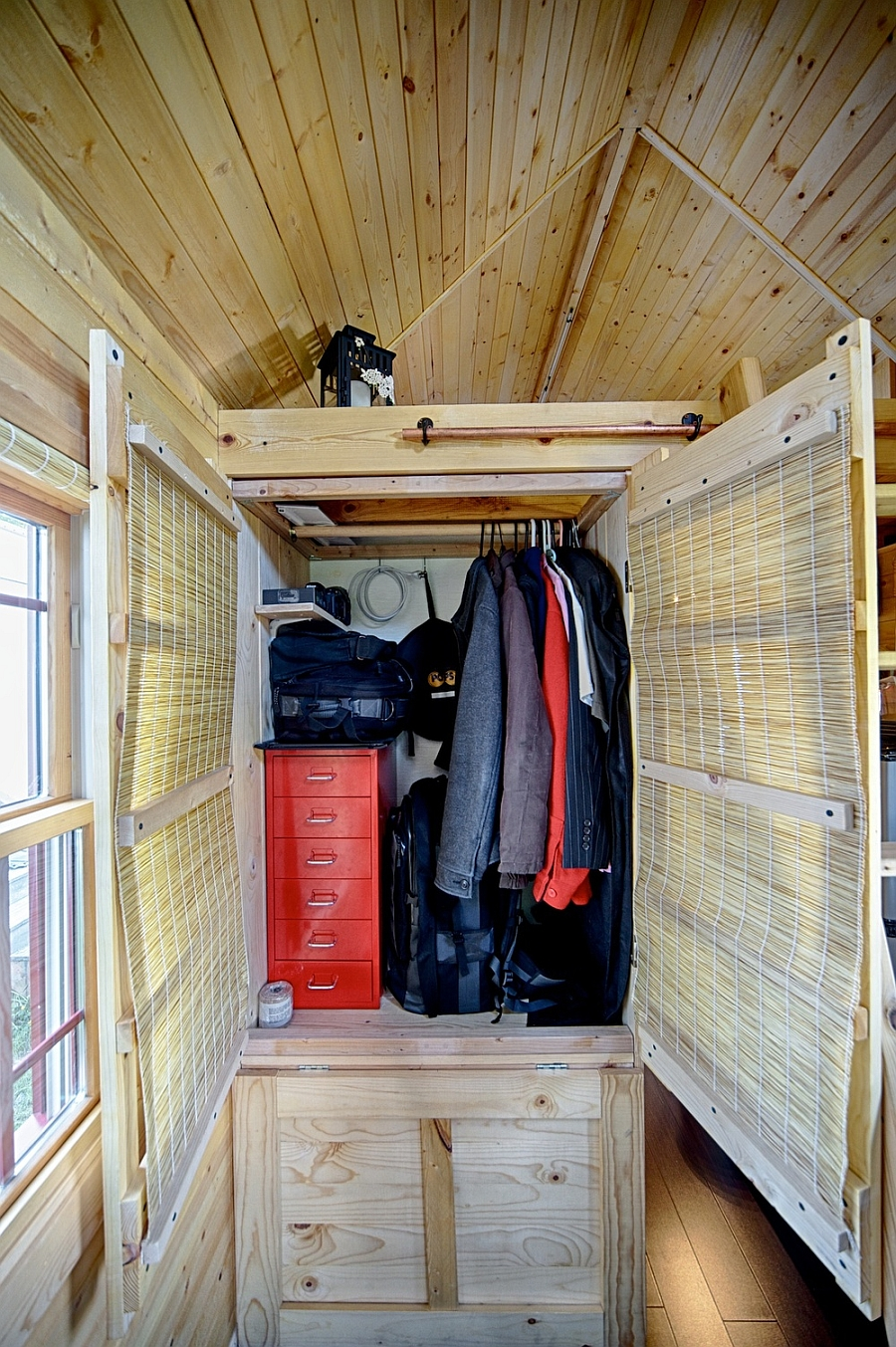 savvy wardrobe and storage area