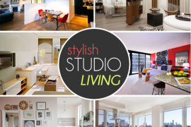 The Design Lover's Guide to Stylish Studio Living
